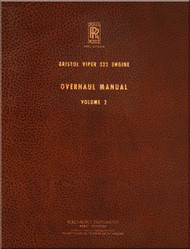 Bristol / Rolls Royce Viper 522 Aircraft Engines Overhaul Manual - Volume 2