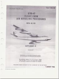 Boeing R/ RB-47  Aircraft Flight Crew Air Refueling Procedures Manual