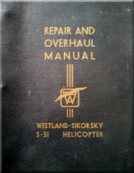 Sikorsky Westland  S-51 Mk. IA Helicopter  Repair and Overhaul Manual