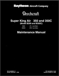 Beechcraft Super King Air  350 and 350 C ( FL-1 , FM-1 )  Aircraft Maintenance  Manual