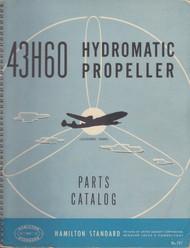 Hamilton Standard Hydromatic Propeller Parts Catalog Manual - N.ro 197 Model 43H60