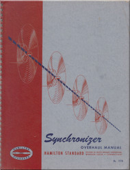 Hamilton Standard Synchronizer Propeller Overhaul Manual - N.ro 177A