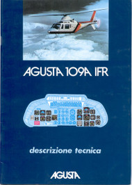 Agusta A.109  IFR Technical Description   Manual  ( Italian Language  )