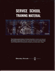 Sikorsky S-55 H-19 HRS HO4S  Helicopter  Service School Training  Manual