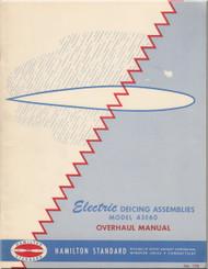 Hamilton Standard  Propeller Electric Deicing Assemblies Overhaul Manual -  - N.ro 178 Model 43E60