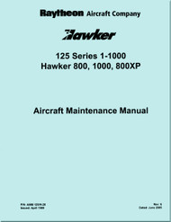 Raytheon Beechcraft  Hawker  125 series 1-1000  Aircraft Maintenance Manual