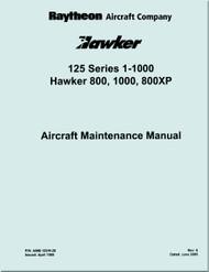 Raytheon Beechcraft  Hawker 125 Series 1000  Aircraft Maintenance    Manual