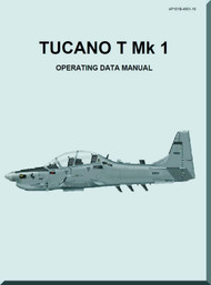 Short  Tucano  T Mk.1 Aircraft  Operating Data Manual