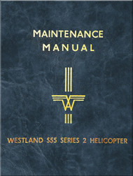 Sikorsky Westland Whirlwind S.55 Series 2  Helicopter Maintenance  Manual