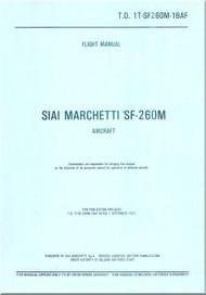 SIAI Marchetti SF-260 M Aircraft Flight Manual -1T-SF260M-1BAF
