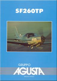 SIAI Marchetti  / Agusta  SF-260TP Aircraft Technial Brochure Manual