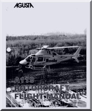 Agusta A-119 K   Flight  Manual  ( English Language  )