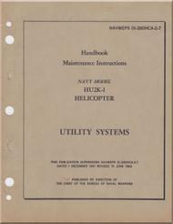 KAMAN HU2K-1 Helicopter Maintenance Manual - Utility Systems  -   NAVWEPS 01-2600HCA-2-7 , 1962