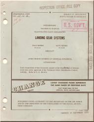 General Dynamics FB-111 A, B  Illustrated Parts Breakdown  - Landing Gear Systems Manual, T.O. 1F-111A-4-3, 1970