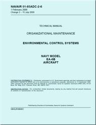 Grumman EA-6 B Aircraft Environmental and Control Systems  Maintenance Manual - 01-85ADC-2-6