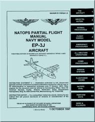 Lockheed EP-3 J Aircraft  Partial Flight Manual - 01-75PAA-1.3