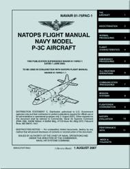 Lockheed P-3 C Aircraft  Flight Manual - 01-75PAC-1