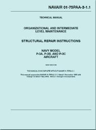 Lockheed P-3 A, B, C Aircraft  Structural Repair Instructions Manual - NAVAIR 01-75PAA-3-1.1