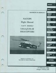 KAMAN UH-2A, B  Helicopter Flight Manual  NAVWEPS 01-2600HCA-1 , 1964
