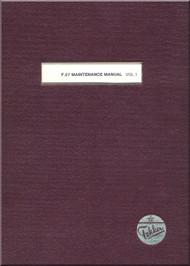 Fokker F-27  Aircraft Maintenance  Manual -  Volume 1