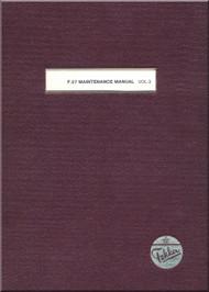 Fokker F-27  Aircraft Maintenance  Manual -  Volume 3