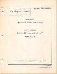Grumman F9F-6, -6P, -7, -8, 8B, -8P, -8T  Aircraft Structural Manual - 01-85FGD-3 - 1952