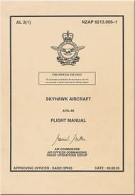 Mc Donnell Douglas A / TA-4K Aircraft Flight Manual NZAP 0213.005-1 - 1993