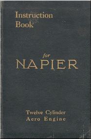 Napier Twelve Cylinder Aero Engine Instruction Book Manual
