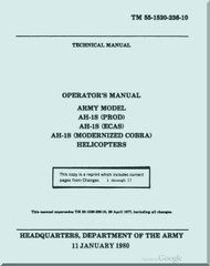 Bell Helicopter AH-1S (PROD) (ECAS) (MC) Operator's Manual - TM 55-1520-236-10-1986