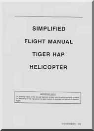 Eurocopter EC 665 Tiger Helicopter Simplifield Flight  Manual - HAP