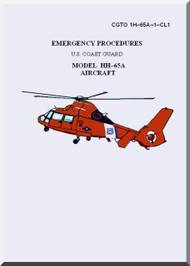 Eurocopter HH-65A  Helicopter Emergency Procedures Manual  ( English Language ) CGTO 1H-65A-1-CL1