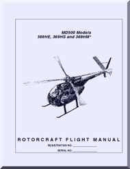 Mc Donnell Douglas  Helicopters  369 HE HS HM Flight  Manual