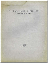 De Havilland Aircraft Propellers Technical Manual
