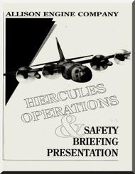 Allison T56  Aircraft Engine Operation on Lockheed C-130 Manual  ( English Language )