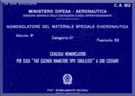 FIAT 5006.0.03T Aircraft Propeller Parts Manual - Elica - Nomencaltore