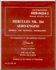 Bristol Hercules Mk.264  Aircraft Engine Maintenance Manual  ( English Language )