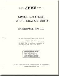 Rolls Royce Bristol  Nimbus  500 Series Aircraft Engine Maintenance Manual  ( English Language )