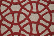 CELTIC CIRCLES-TARTAN RED AH604