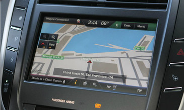 2015 Lincoln MKC Navigation Kit for MyFord Touch Systems - Installed View