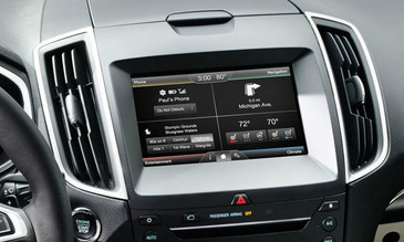 2015 Ford Edge Navigation Kit for MyFord Touch Systems - Installed View