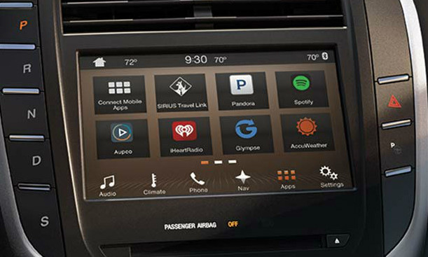 2017 2018 Lincoln MKC Navigation Kit for SYNC 3 - Installed View
