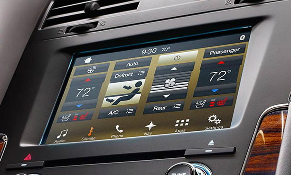 2017 2018 Lincoln Navigator Navigation Kit for SYNC 3 - Installed View