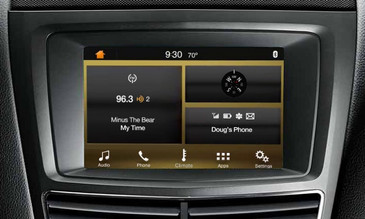 2015 Lincoln MKT SYNC 3 Retrofit Kit for MyLincoln Touch Vehicles - Installed View