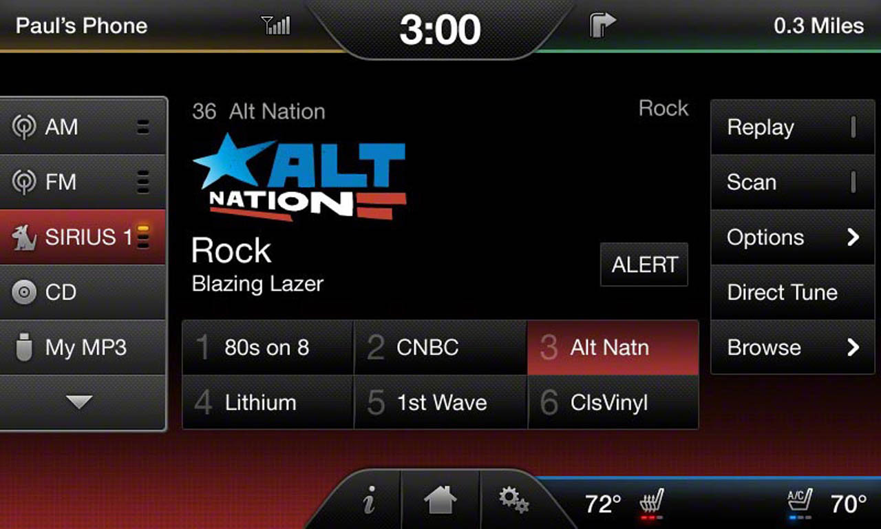 "2015 Ford F150 4"" --> 8"" Touchscreen Conversion w/ SYNC 2- SiriusXM Screen"