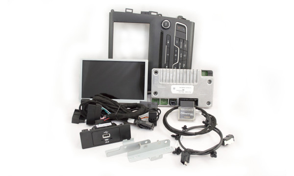 2013 | 2014 | 2015 | 2016 Ford Fusion SYNC 2 Retrofit Kit for MyFord Vehicles - Kit Contents