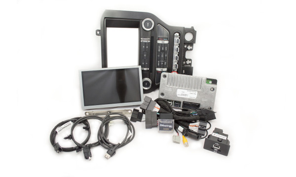 2015 Ford Mustang SYNC 2 Retrofit Kit for MyFord Vehicles - Kit Contents