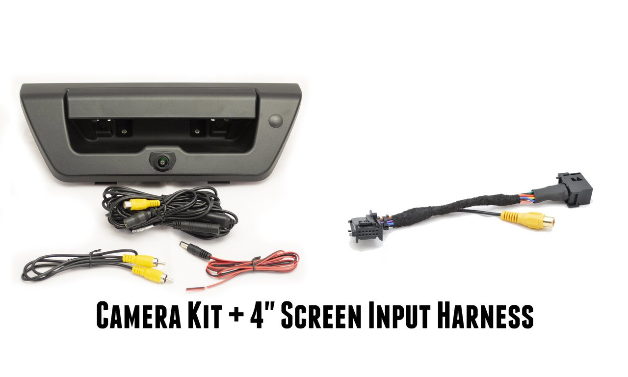 2015+ F-150 OEM Style Handle Camera w/ Guidelines