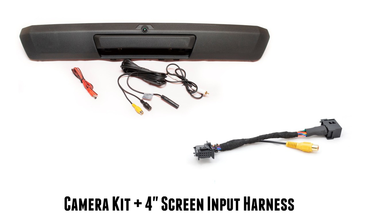 Ford OEM Style Tailgate Backup Camera Bundle (17-19' Super Duty Pickups)