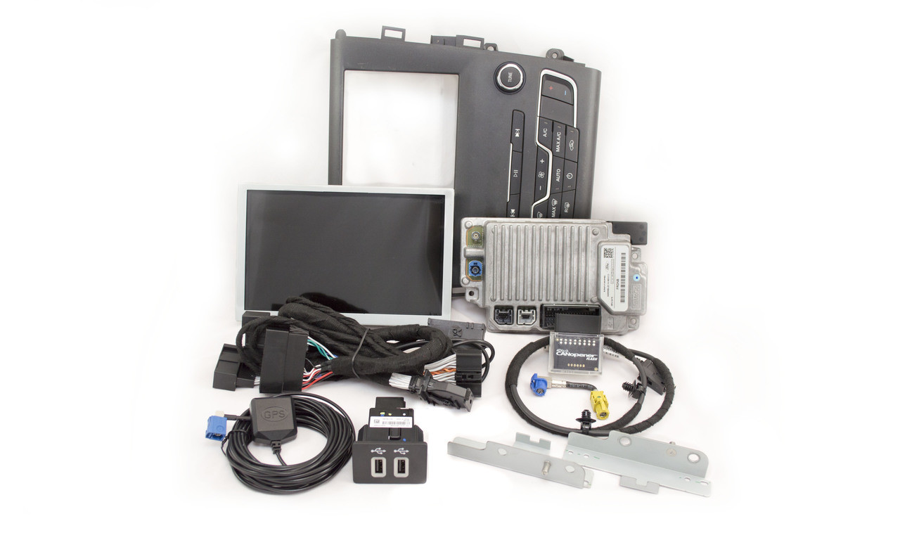 2019 Ford Fusion SYNC 3 Retrofit Kit for MyFord Vehicles - Kit Contents