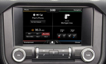 2015 Ford Mustang Navigation Kit for MyFord Touch Systems - Installed View